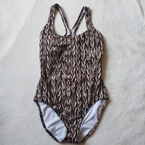 Speedo ultra back one piece swimsuit AA